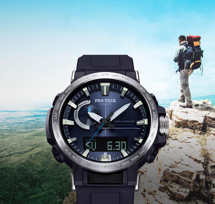 PRO TREK - sports watches, hiking and climbing - CASIO